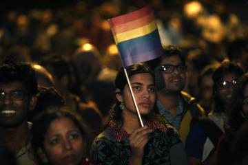 APTOPIX India Homosexuality